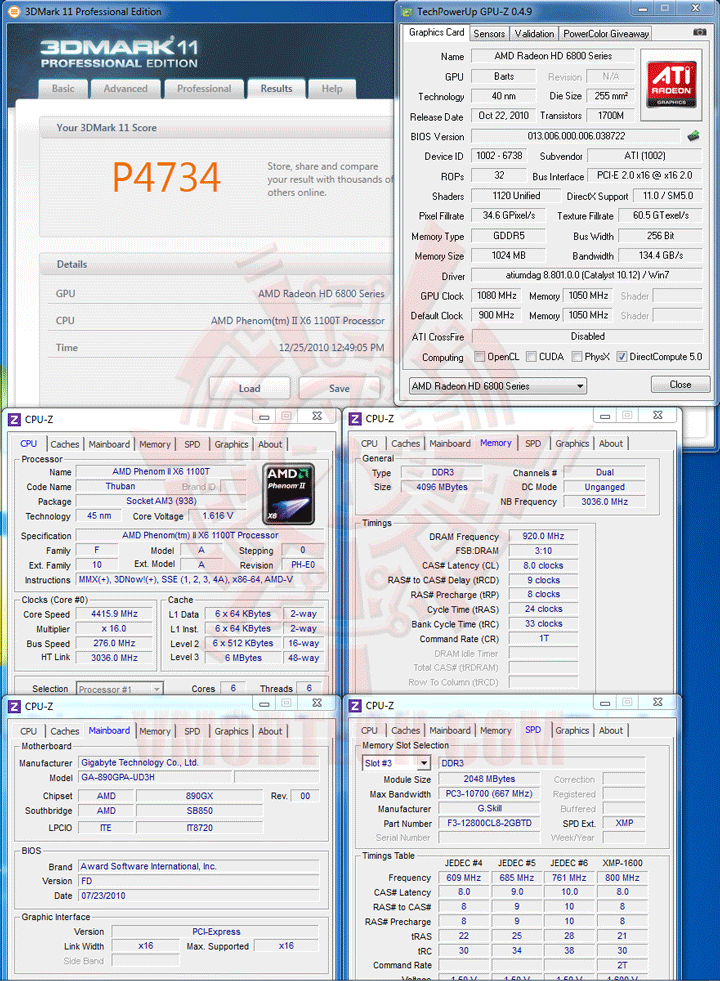 11 AMD Phenom II X6 1100T Black Edition Overclocking Review
