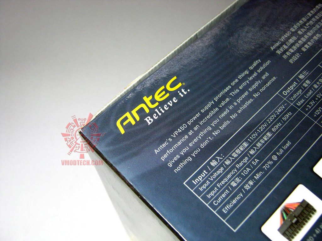 antec450w 06 Antec VP450 Basiq Power [450w] : Review
