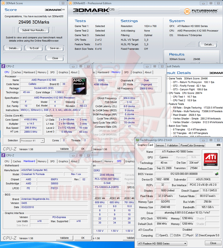 055 AMD Phenom II X2 565 Black Edition Unlock Core & Overclocking Review