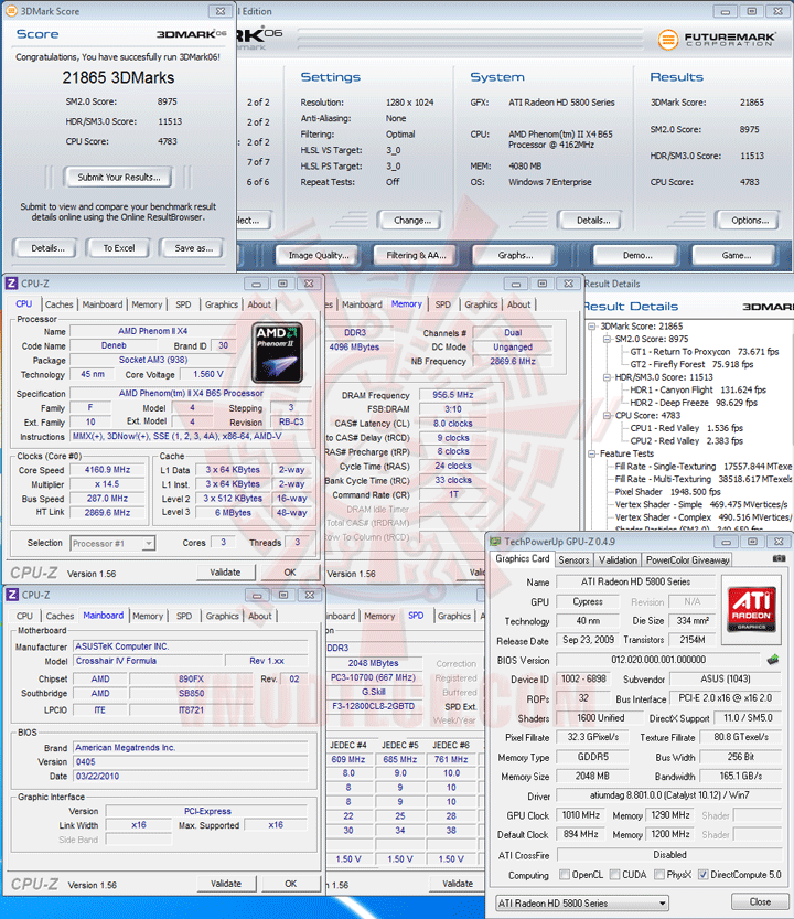 06 AMD Phenom II X2 565 Black Edition Unlock Core & Overclocking Review