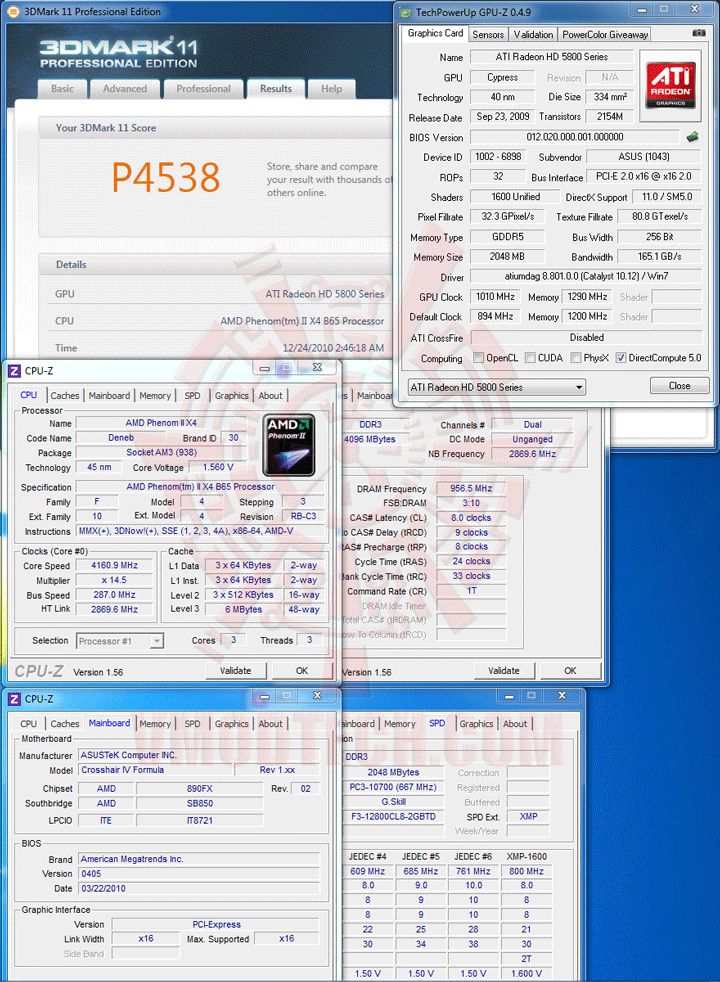 11 AMD Phenom II X2 565 Black Edition Unlock Core & Overclocking Review