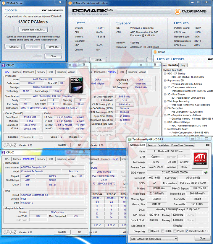 pcm05 AMD Phenom II X2 565 Black Edition Unlock Core & Overclocking Review