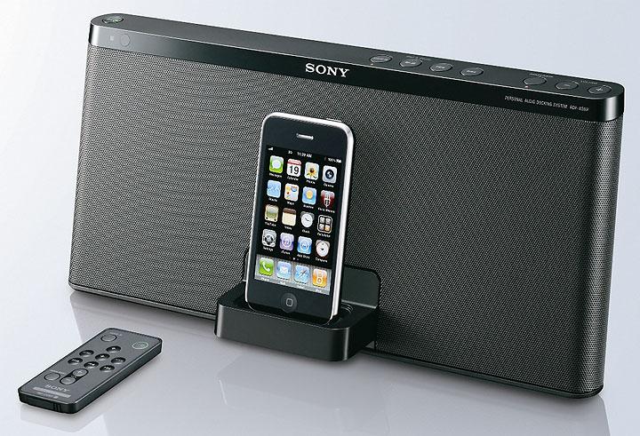 rdp x50ip with remote โซนี่เอาใจคนรักเสียงเพลงด้วย iPod Speaker Dock ลงตัวด้วยดีไซน์เรียบหรู พร้อมคุณภาพเสียงเต็มพลัง