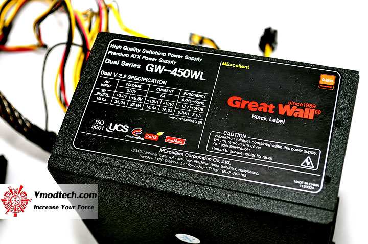 dsc 0077 Great Wall 450WL Power Supply Black Label Series Review