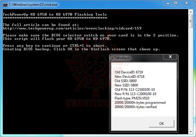 4 ปลดปล่อยพลัง HD 6950 ให้กลายเป็น HD 6970 กันแบบเต็มๆง่ายๆและแรงๆ