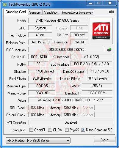 gz1 ปลดปล่อยพลัง HD 6950 ให้กลายเป็น HD 6970 กันแบบเต็มๆง่ายๆและแรงๆ