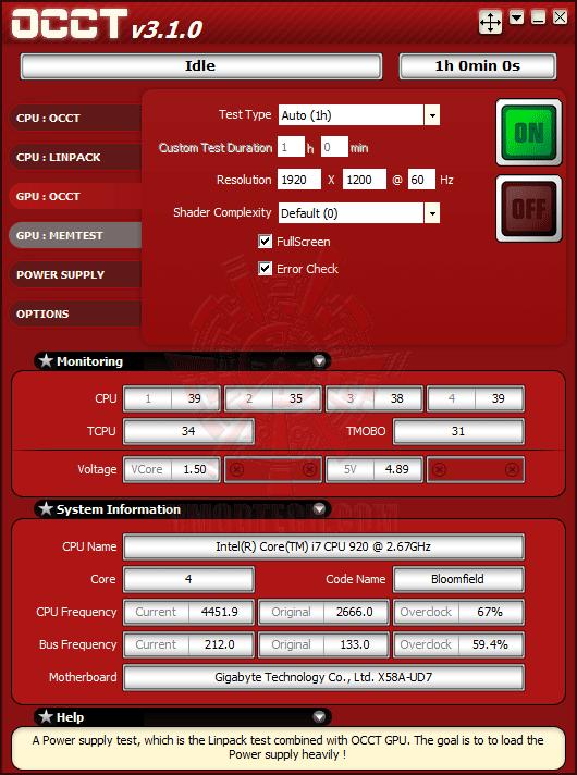 occtset ปลดปล่อยพลัง HD 6950 ให้กลายเป็น HD 6970 กันแบบเต็มๆง่ายๆและแรงๆ