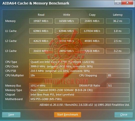 aida cache AVEXIR Blitz Gaming Series DDR3 2,000 MHz