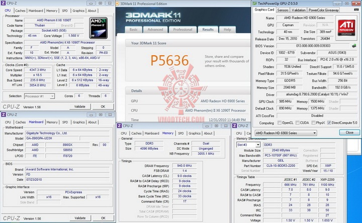 11 985 1500 GIGABYTE RADEON HD6950 @ HD6970 BIOS MODIFY