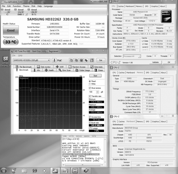 hdtune46 read 1532shortstroke100gb 720x702 Samsung Spinpoint F4 HD322GJ [320GB] : Review