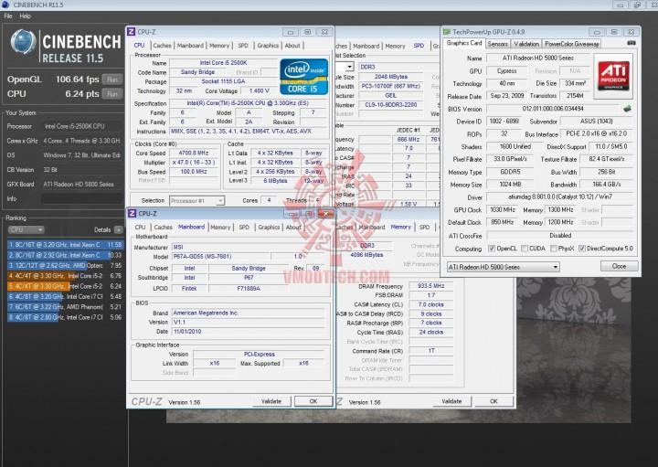 cinebench 11 720x511 INTEL Core i5 2500k on msi P67A GD55