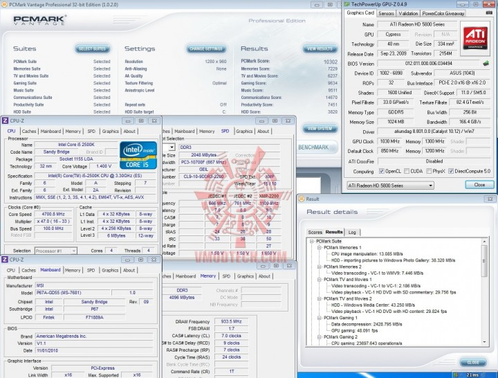 pcmark vantage 720x546 INTEL Core i5 2500k on msi P67A GD55