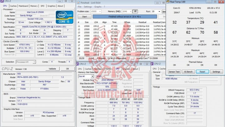 linx1 720x407 The Sandy Bridge Review: Intel Core i7 2600K and Core i5 2500K Tested
