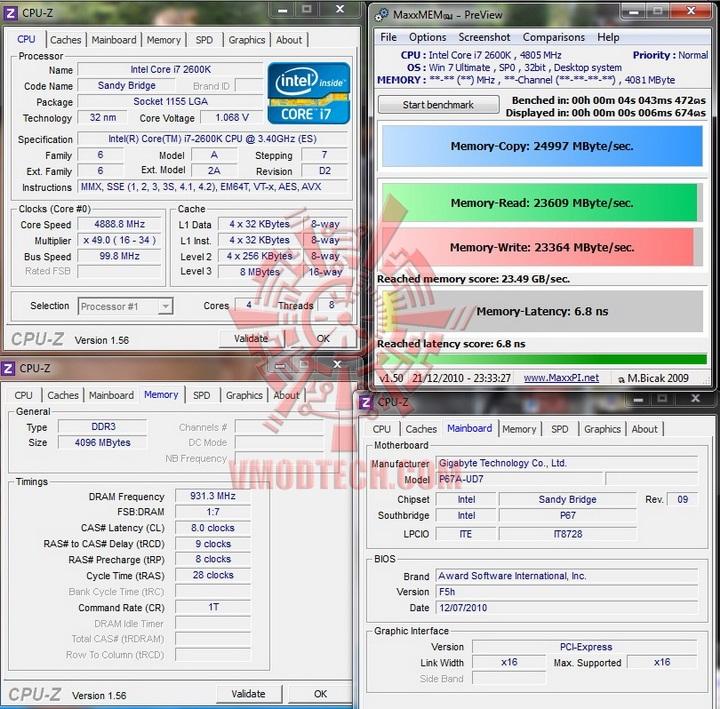maxmem GIGABYTE P67A UD7 Motherboard Review