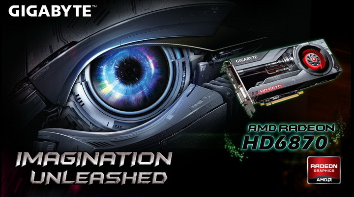 6 GIGABYTE Radeon HD6870 1GB DDR5 Review