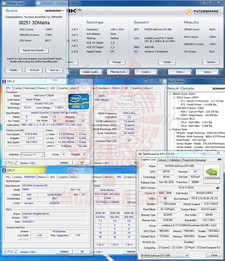 06 5116 ASUS P8P67 Motherboard Review