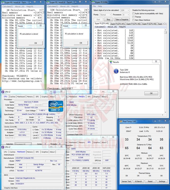 hpi 1 ASUS P8P67 Motherboard Review