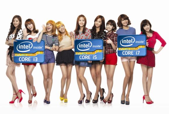 snsd intel Intel ประกาศข่าวดี โซนยอชิแด เตรียมปล่อย MV และ เพลงโลโก้ ร่วมแจมสินค้าชิ้นใหม่ Intel Core Processor