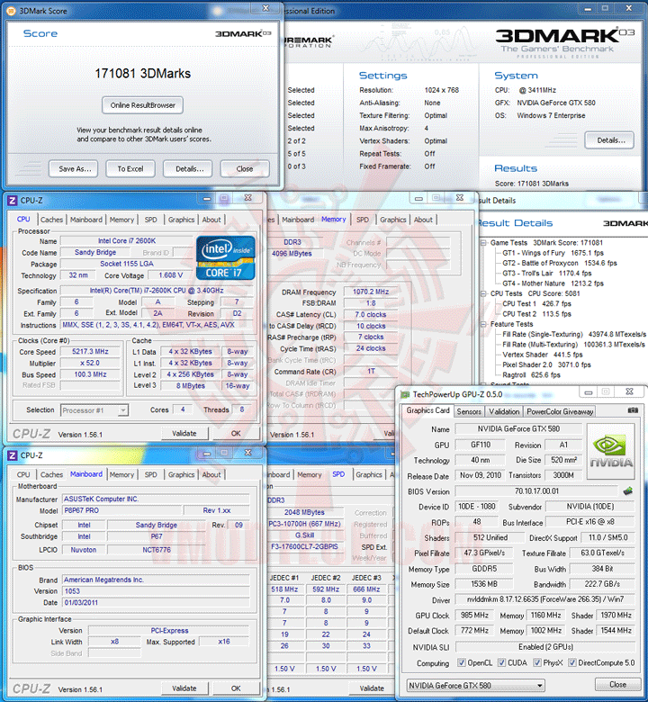 03 Core i7 2600K @ 5,217MHz Rock Stable with ASUS P8P67 PRO