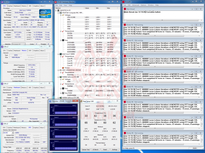 prime5217 2 720x539 Core i7 2600K @ 5,217MHz Rock Stable with ASUS P8P67 PRO
