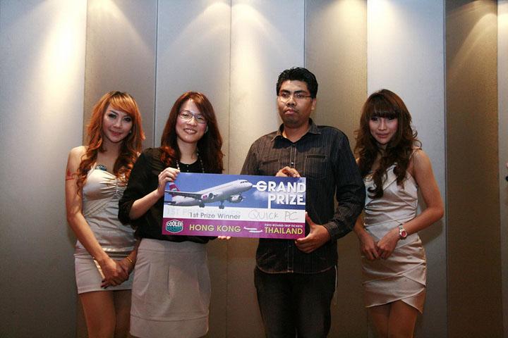 cm 13 Cooler Master ตอกย้ำความเป็นผู้นำแบรนด์ เคส เพาเวอร์ซัพพลาย ซีพียูคูลเลอร์และอุปกรณ์ระบายความร้อนในเมืองไทย จัดสัมมนาและเลี้ยงขอบคุณคู่ค้าและสื่ออย่างยิ่งใหญ่ เพื่อร่วมฉลองในความสำเร็จนี้ร่วมกัน