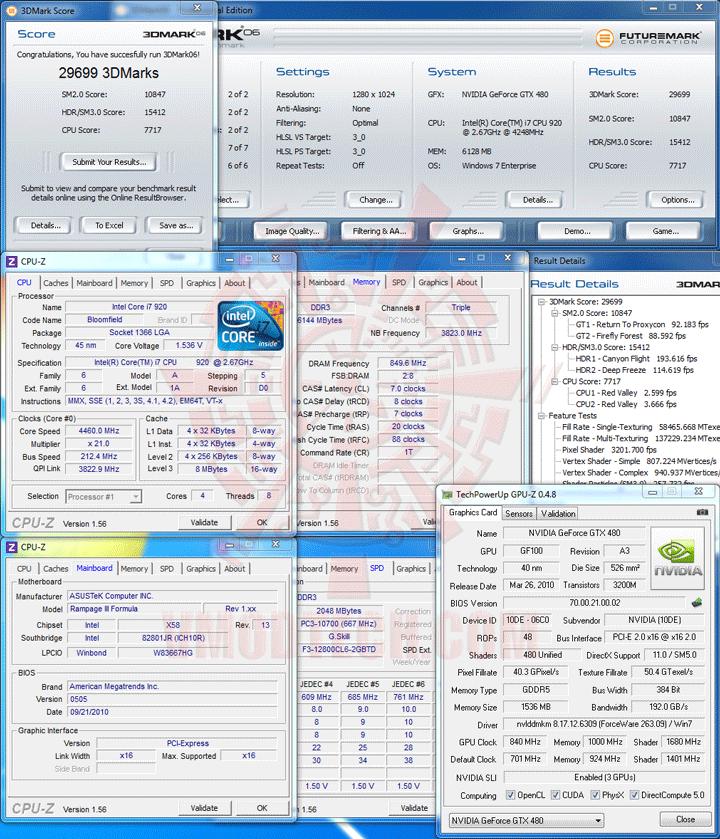 06 ASUS RAMPAGE III FORMULA Motherboard Review