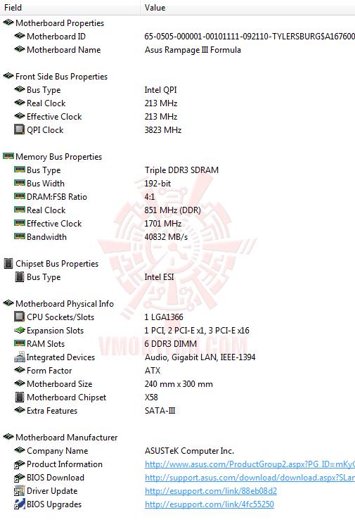 ed1 ASUS RAMPAGE III FORMULA Motherboard Review
