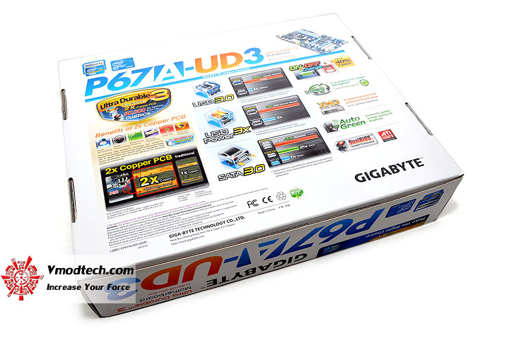dsc 0002 GIGABYTE P67A UD3 Motherboard Review