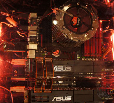 asus be ASUS เปิดตัว มาเธอร์บอร์ดรุ่นพิเศษ ROG Rampage III Black Edition