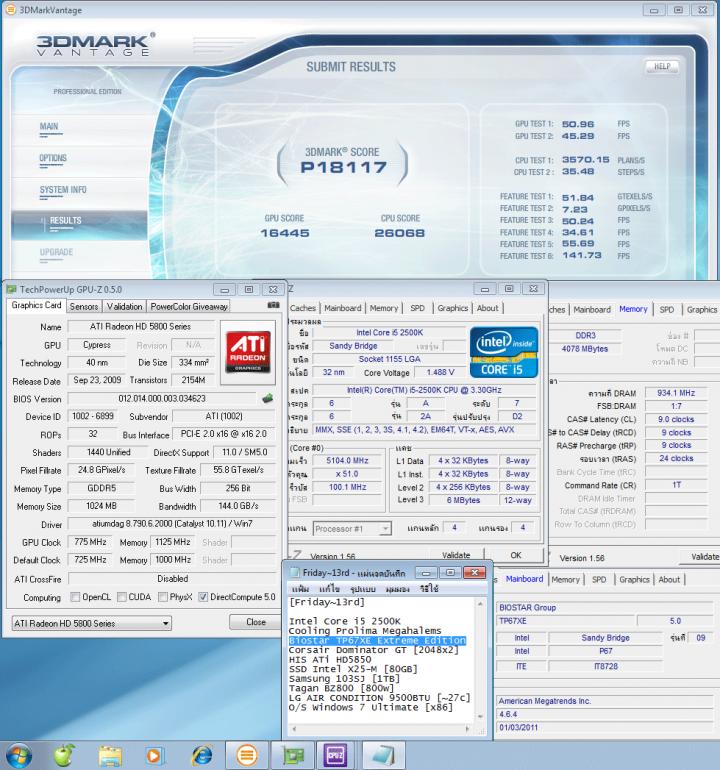 51x100 147v pll1912v ddr3 934clbyspd3dvantage 775 1125 p18117 720x770 custom Biostar TP67XE Extreme Edition : Review