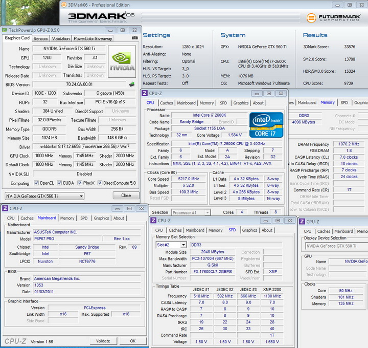 06 1 Gigabyte Nvidia GTX 560 Ti SUPEROVERCLOCK The New Generation of Nvidia