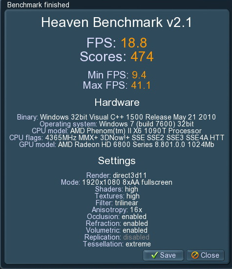 unigine 2011 01 21 21 57 38 22 ASUS Radeon HD6870 1GB DDR5 Review