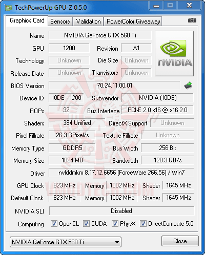 gz df NVIDIA GeForce GTX 560 Ti 1GB GDDR5 Debut Review