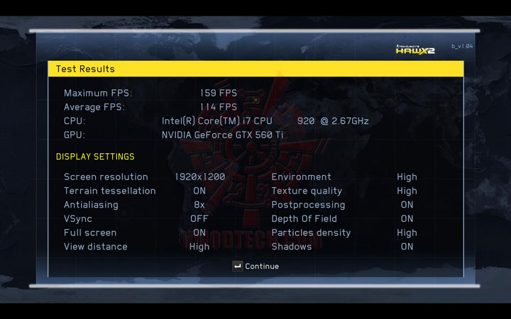 hawx2 oc NVIDIA GeForce GTX 560 Ti 1GB GDDR5 Debut Review