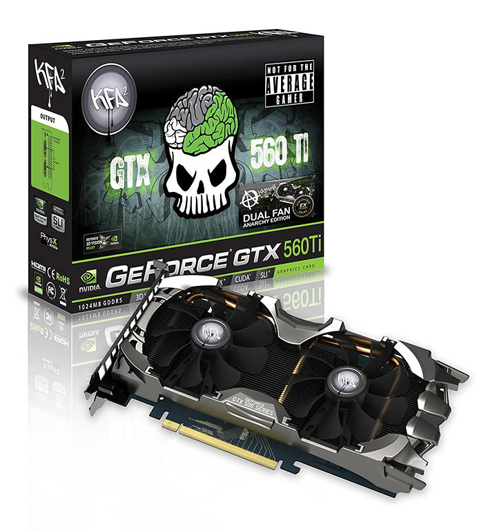 kfa2 geforce gtx 560 anarchy ex oc NVIDIA GeForce GTX 560 Ti 1GB GDDR5 Debut Review