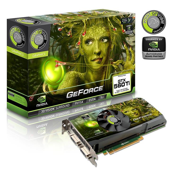 point of view vga 560 a1ti b NVIDIA GeForce GTX 560 Ti 1GB GDDR5 Debut Review