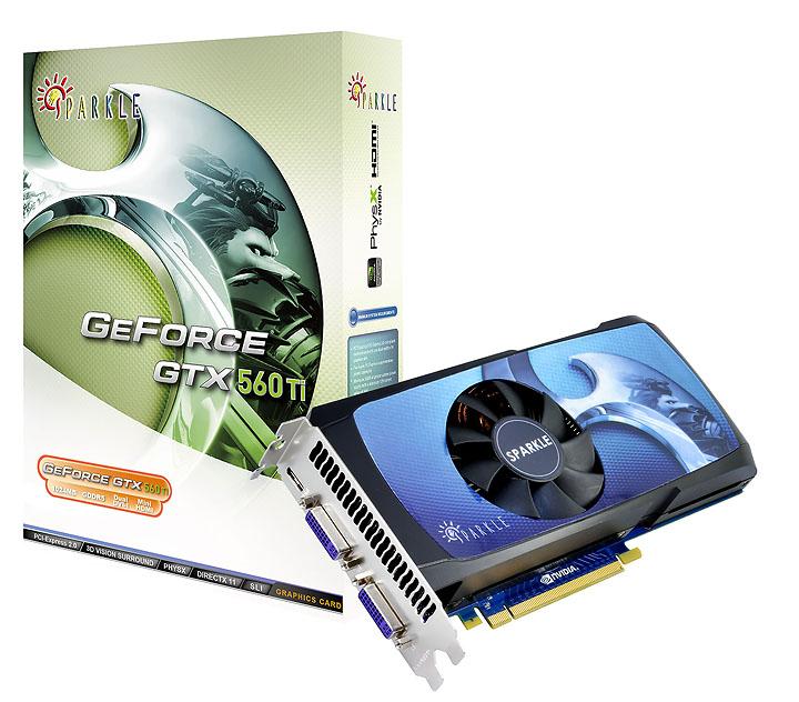 sparkle gtx560ti with box NVIDIA GeForce GTX 560 Ti 1GB GDDR5 Debut Review