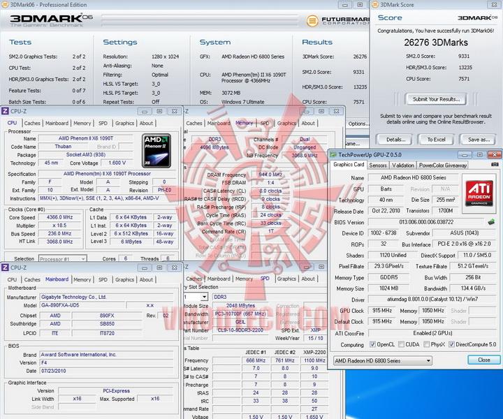 06 AMD Radeon HD6870 Crossfire X Review