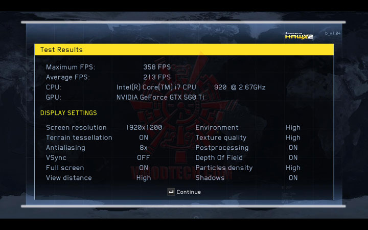 hawx2 ov NVIDIA GeForce GTX 560 Ti 1GB GDDR5 SLI Review