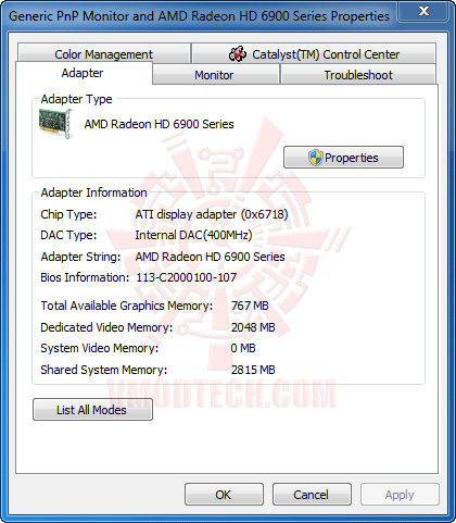 6970info HIS AMD Radeon HD 6970 2GB GDDR5 Review
