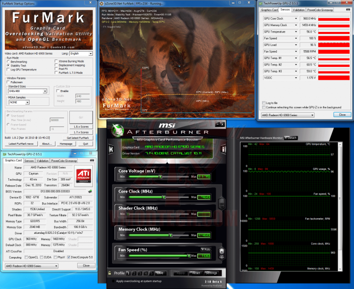 fm oc 720x587 HIS AMD Radeon HD 6970 2GB GDDR5 Review