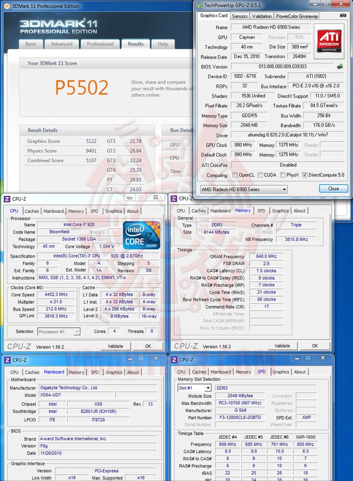 11 df HIS AMD Radeon HD 6970 2GB GDDR5 Review