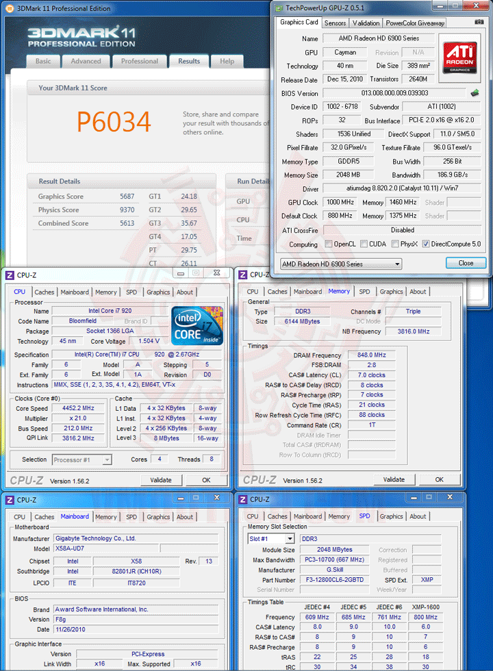 11 ov HIS AMD Radeon HD 6970 2GB GDDR5 Review