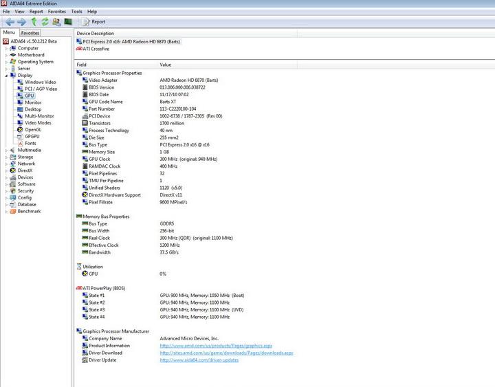 1 PowerColor Radeon HD6870 PCS+ 1GB DDR5 Review