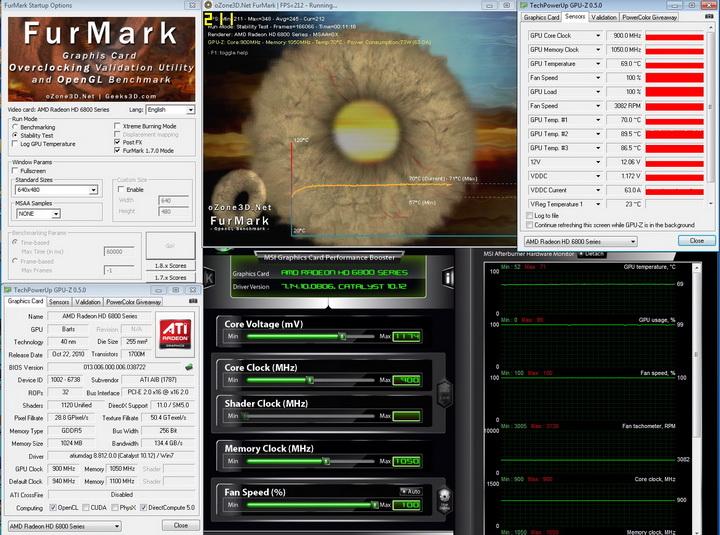 900 1050 PowerColor Radeon HD6870 PCS+ 1GB DDR5 Review