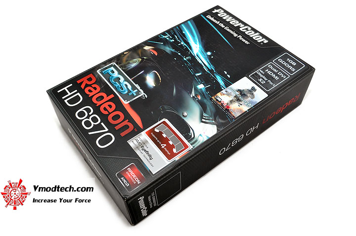 dsc 0001 PowerColor Radeon HD6870 PCS+ 1GB DDR5 Review