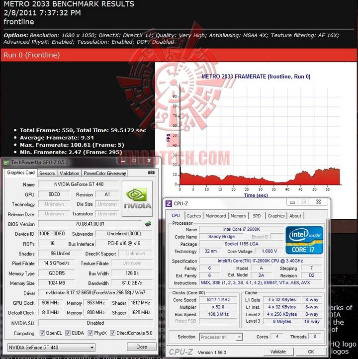 metro1 Palit GeForce GT 440 1024MB GDDR5