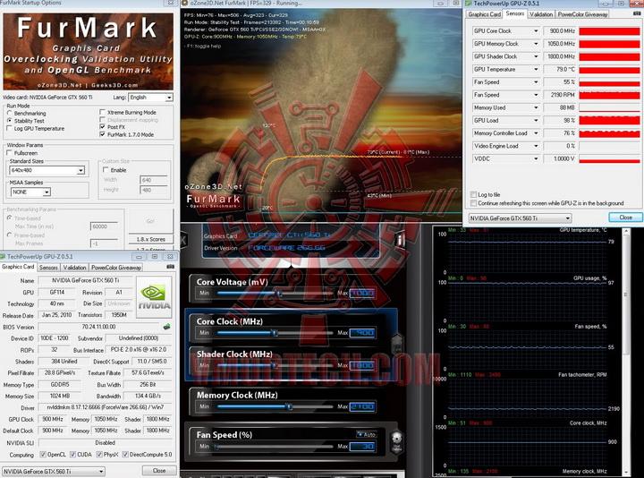 df 900 10501 PaLiT GeForce GTX 560 Ti Sonic 1024MB GDDR5