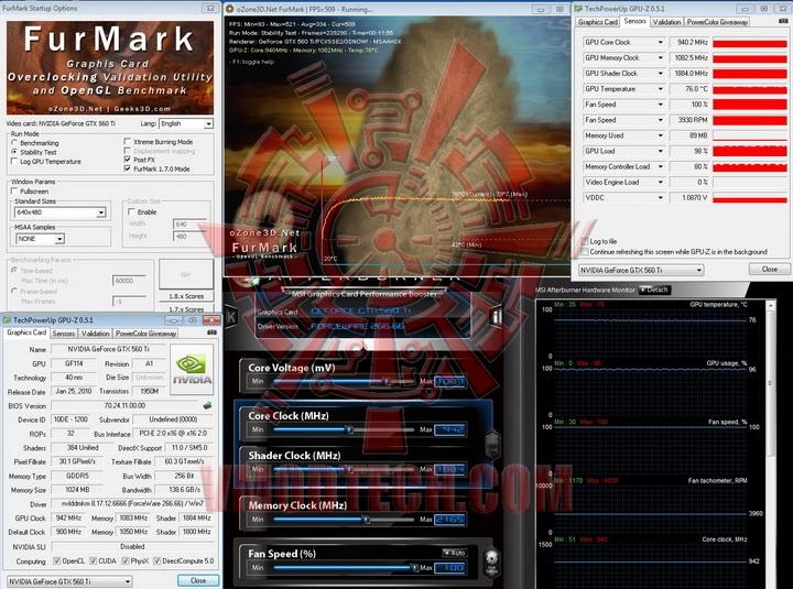 942 1083 PaLiT GeForce GTX 560 Ti Sonic 1024MB GDDR5