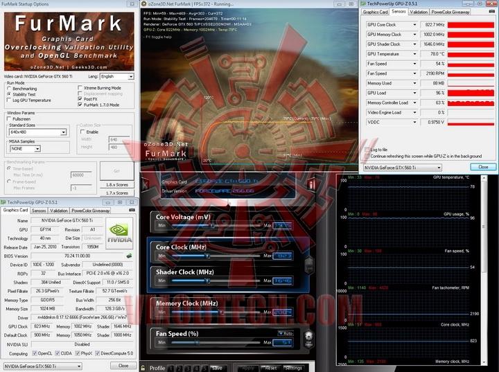 st 823 1002 PaLiT GeForce GTX 560 Ti Sonic 1024MB GDDR5